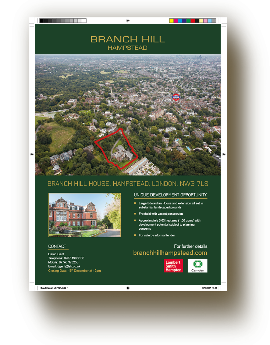 branch hill advert
