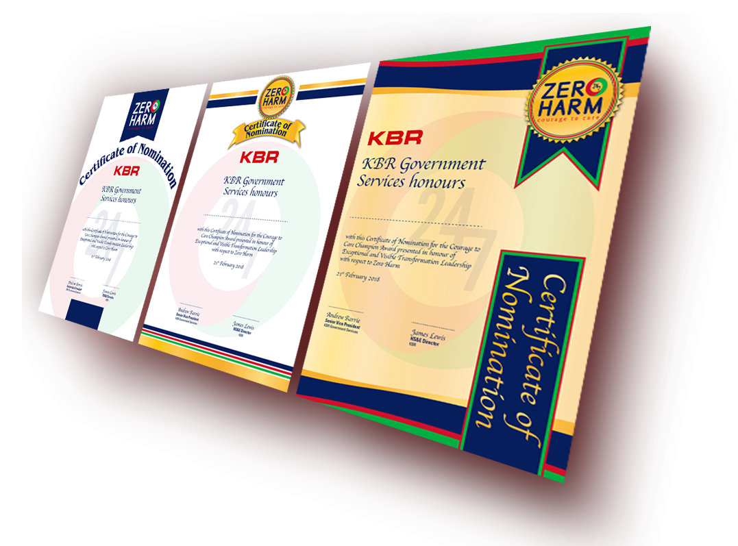 certificates kbr